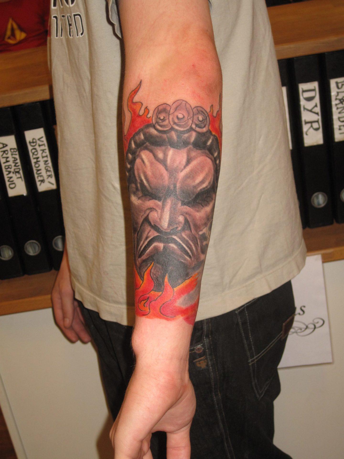 Hachiman god of war japanese tattoo tatovering