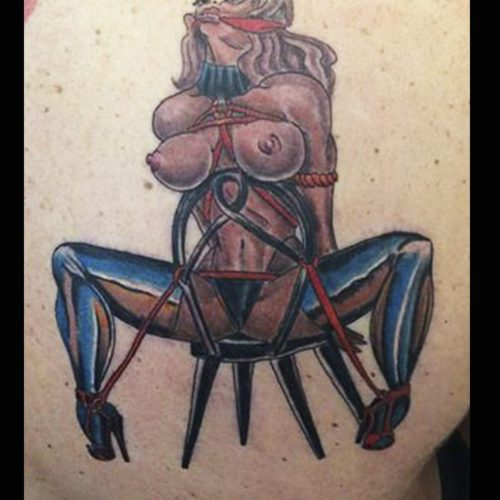 Bondage tatovering tattoo