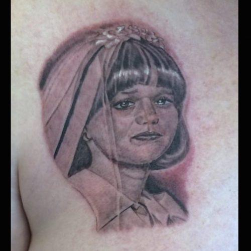 portrait tattoo portræt tatovering skygge