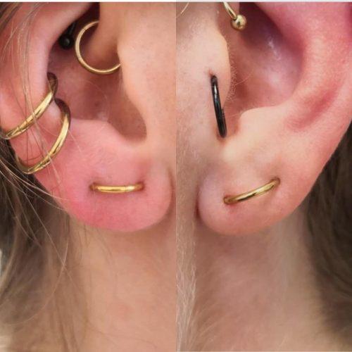 goldline orbital piercing