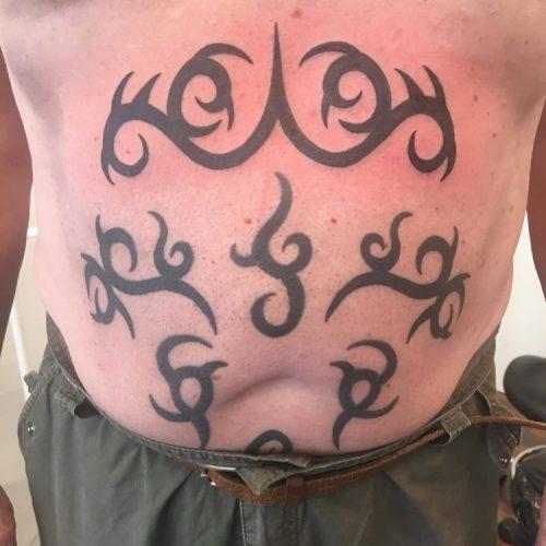 tribal tattoo tatovering