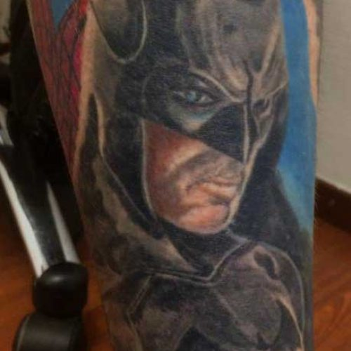 dark knight batman tattoo tatovering