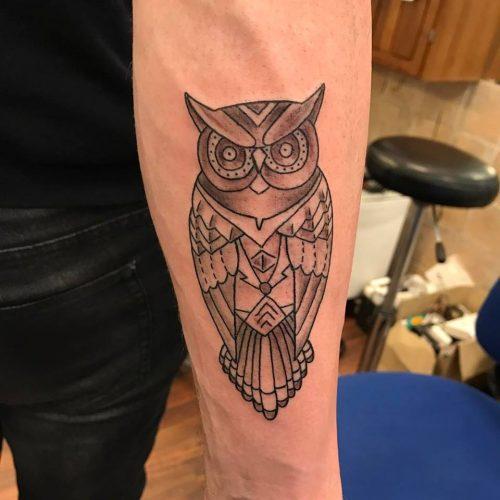 owl ugle tattoo