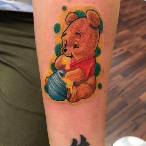winnie the pooh tattoo tatovering