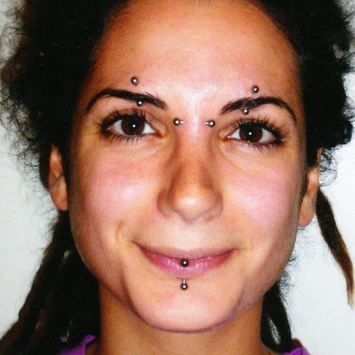 piercing øjebryn bannanabell eye brow banbell