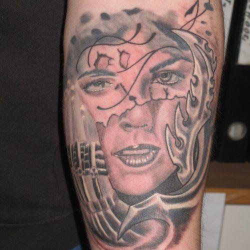 Bio mechanic tattoo biomekanisk tatovering