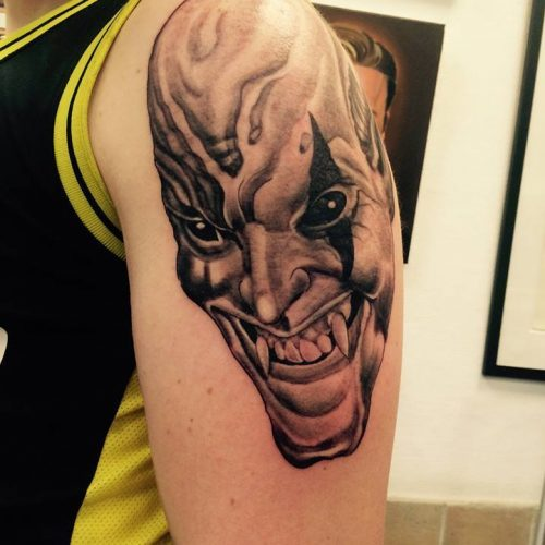 dæmon tatovering demon tattoo