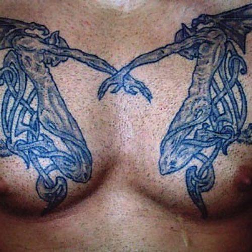 two devils to djævle tatovering tattoo