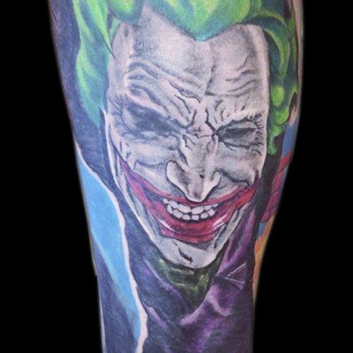 the joker jokeren tattoo tatovering