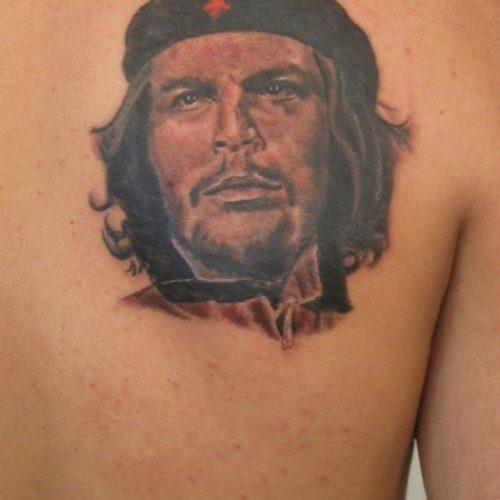 Che Guevara tattoo tatovering